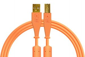 Dj Techtools Chroma USB-B Cable Straight Orange