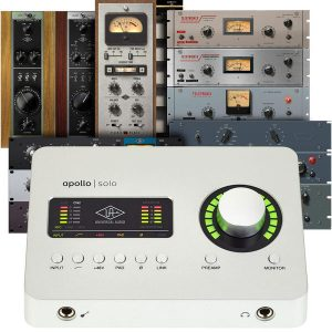 Universal Audio Apollo Solo USB-C Heritage Ed.