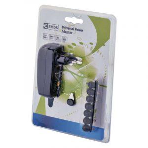 Universal Power Adapter EMOS N3111 3-12V 1000mA + USB
