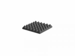 EZ Foam Pyramidal 10cm Charcoal Gray