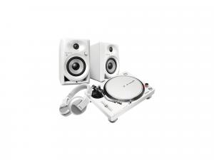 Pioneer PLX-500-W + DM-40-BT-W+HDJ-X5BT-W