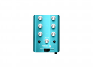 "Pokket Mixer Mini-DJ-Mixer ""Beach-Blue"""