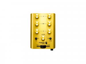 """Pokket Mixer Mini-DJ-Mixer """"Gold-Rush"""""""