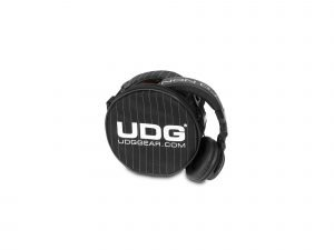 UDG Ultimate Headphone Bag Black/Grey Stripe (U9960BG)