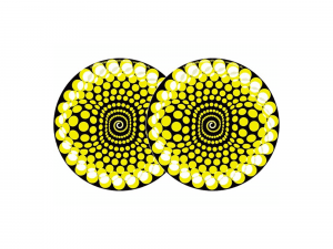 ZOMO SLIPMAT – YELLOW BALLS