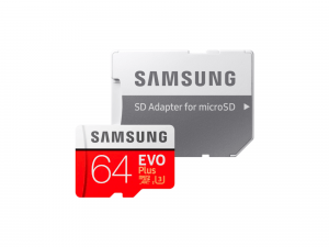 Samsung MicroSDXC UHS-I Card EVO Plus 64 GB