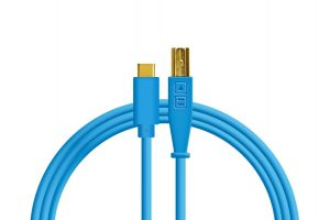 Dj Techtools Chroma USB-C Cable Blue