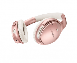 Bose QuietComfort 35 II Wireless Acoustic Noise-cancelling Rose Gold
