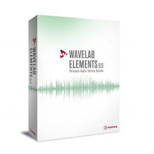 Steinberg WaveLab Elements 9.5 (Boxed retail version)